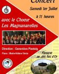 concert  magnanarelles 1er juillet 2017
